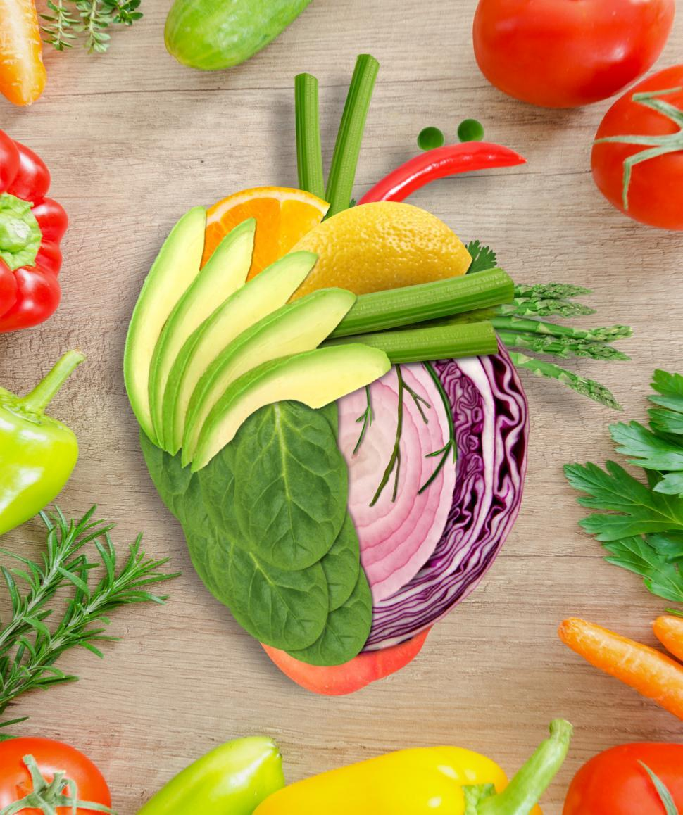 Download Free Stock Photo of Healthy Heart - Health Eating Concept