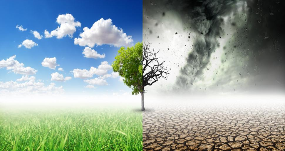 Download Free Stock Photo of Climate Change - Extreme Weather Events - Concept