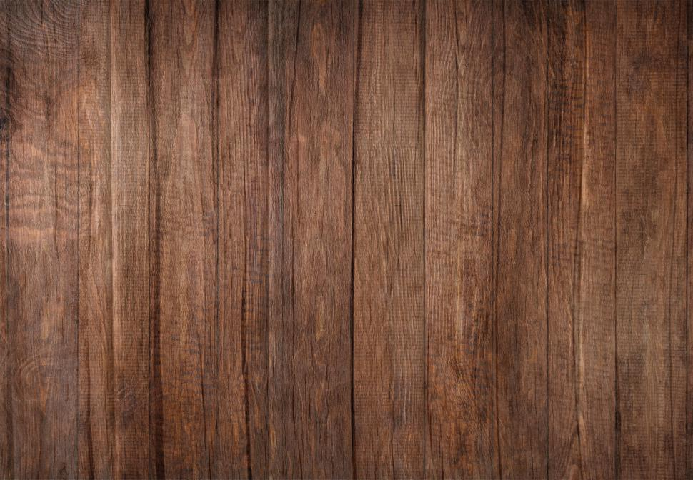 Download Free Stock Photo of Wood Background - Dark Wooden Background