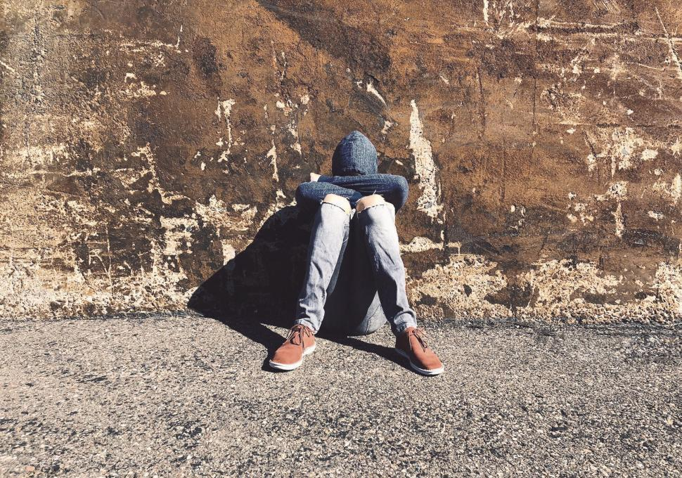 Download Free Stock Photo of Depressed Teen - Teen Depression - Bullied Teen