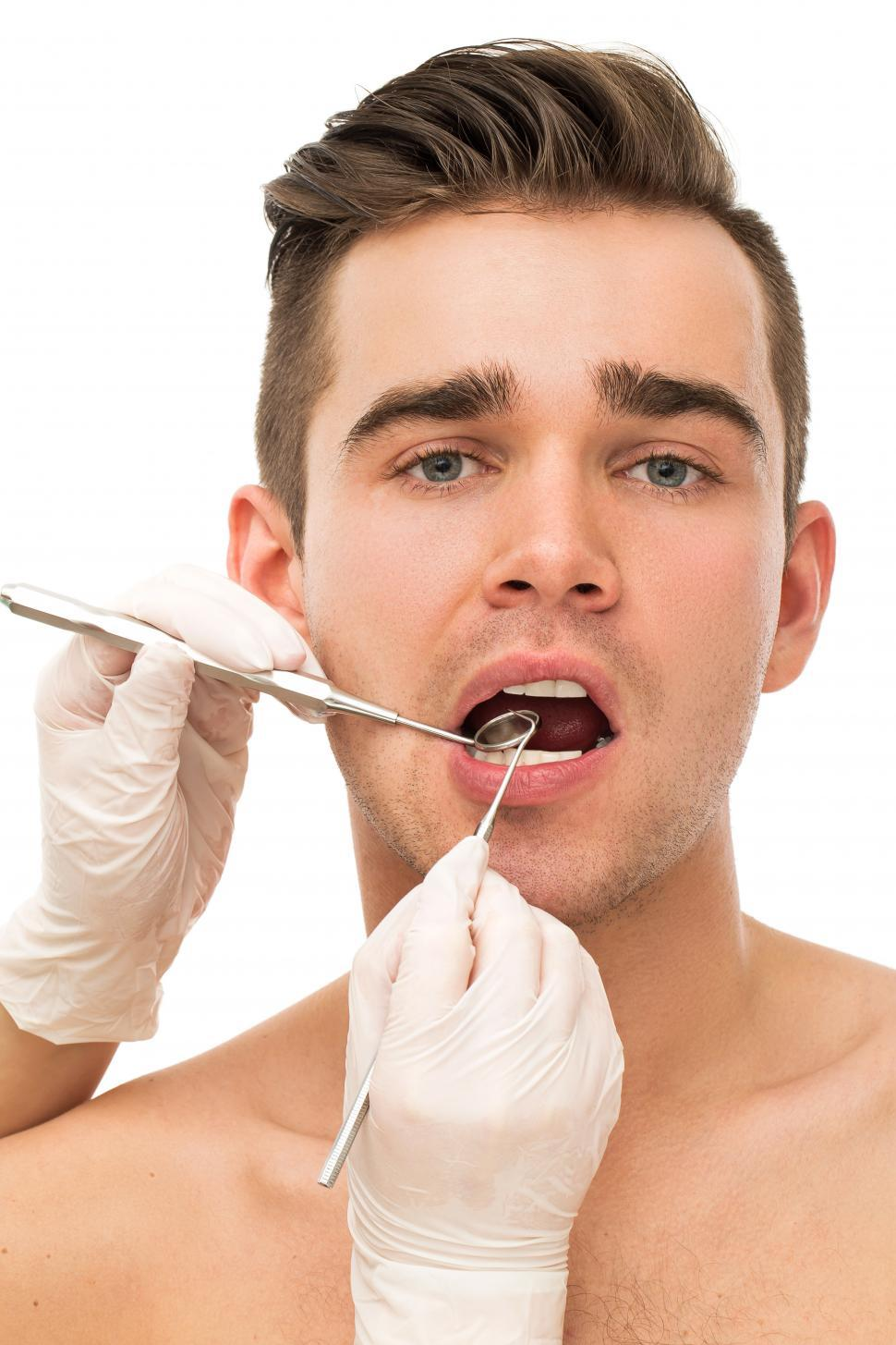 Download Free Stock Photo of Dentistry - Looking for cavities