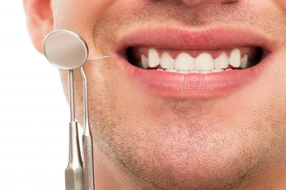 Download Free Stock Photo of Dentistry - Dental tools and white smile