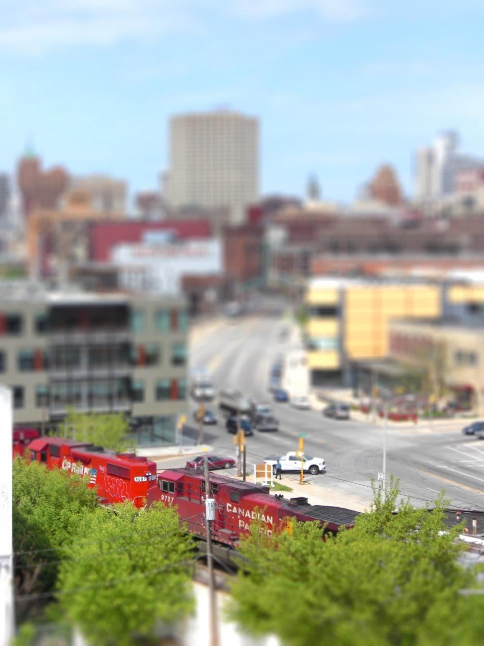 Download Free Stock HD Photo of Milwaukee Tilt Shift Online