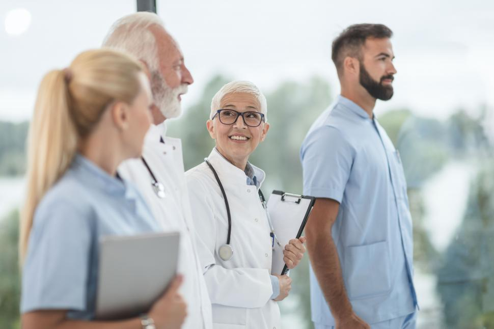 Download Free Stock Photo of Team of medical doctors
