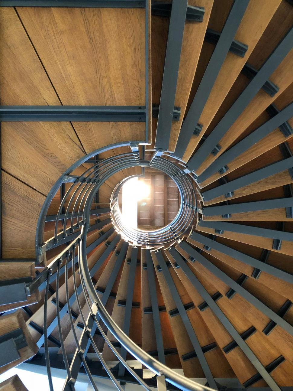 Download Free Stock Photo of Spiral Staircase