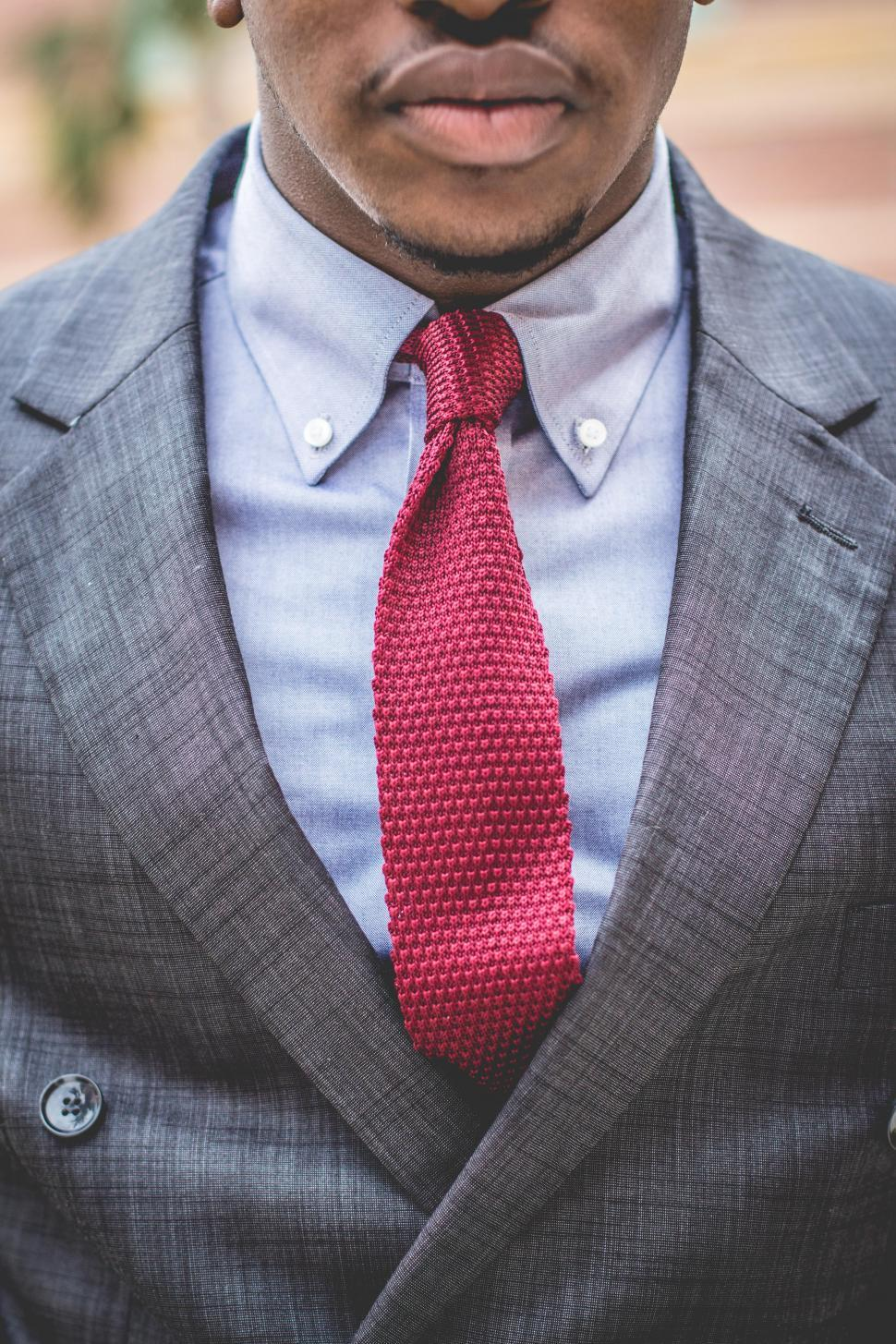Download Free Stock Photo of Young man in formal clothing