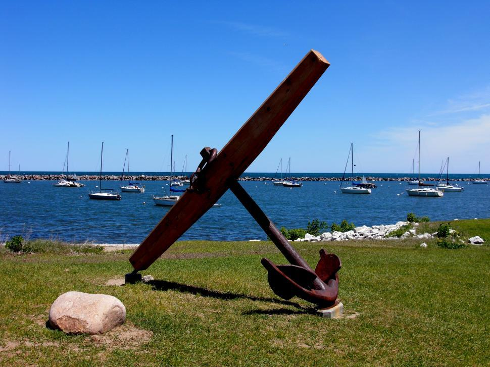 Download Free Stock HD Photo of Anchor on the Beach Online