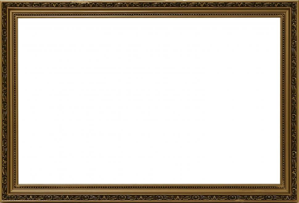 Download Free Stock Photo of Ornate Empty frame