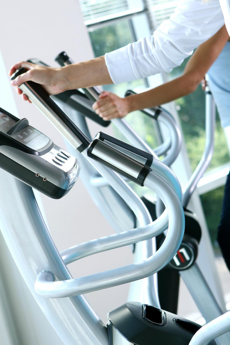 Download Free Stock Photo of Training machines at the gym