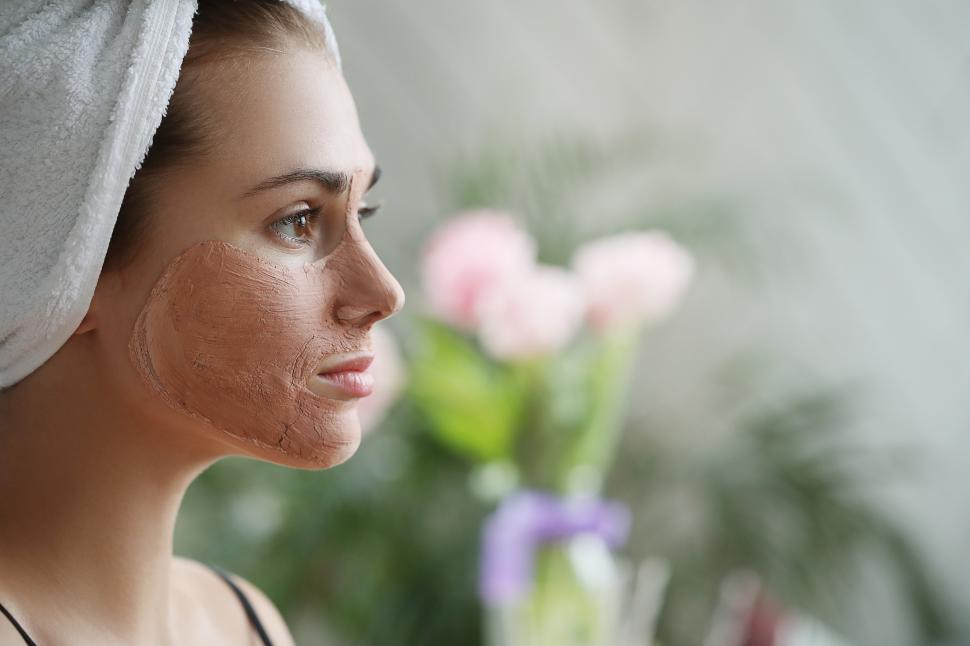 Download Free Stock Photo of Face mask at salon