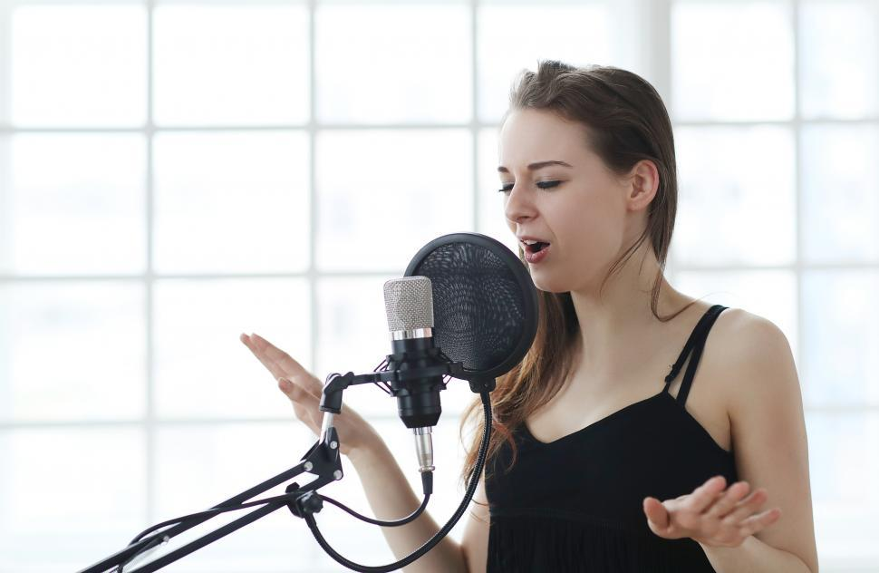 Download Free Stock Photo of Singer