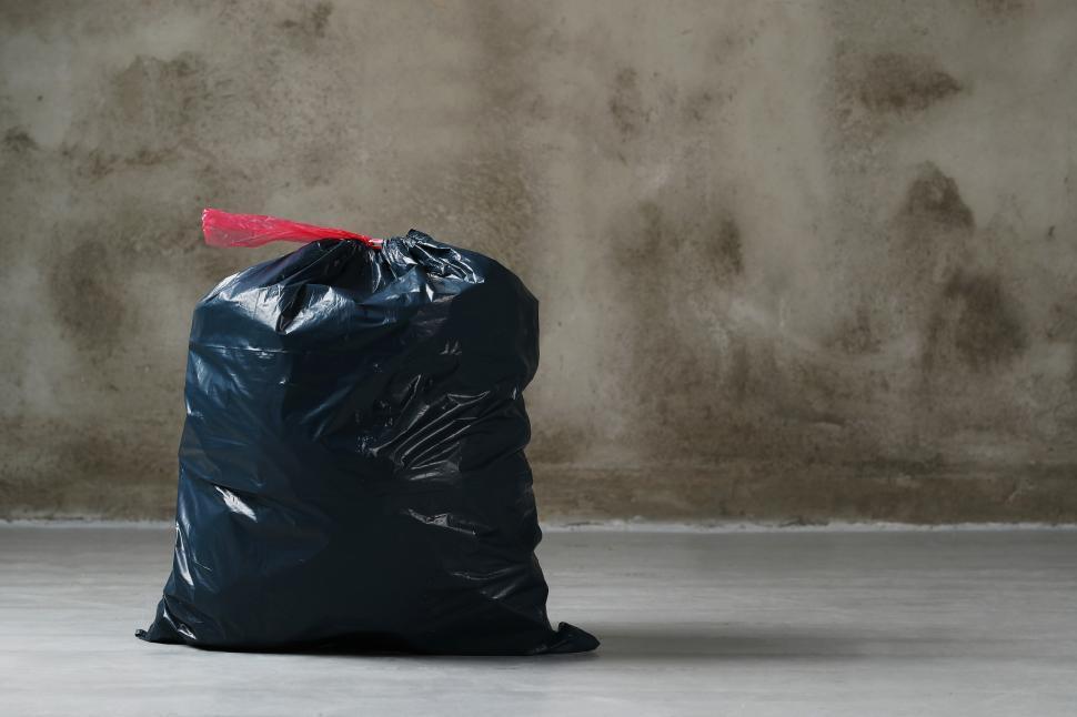 Download Free Stock Photo of Bag of garbage