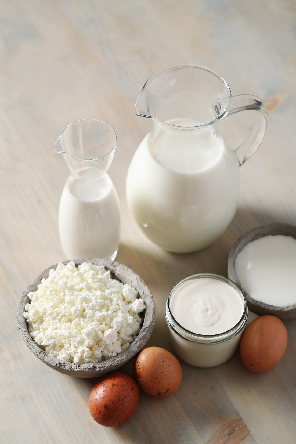 Download Free Stock Photo of Dairy products