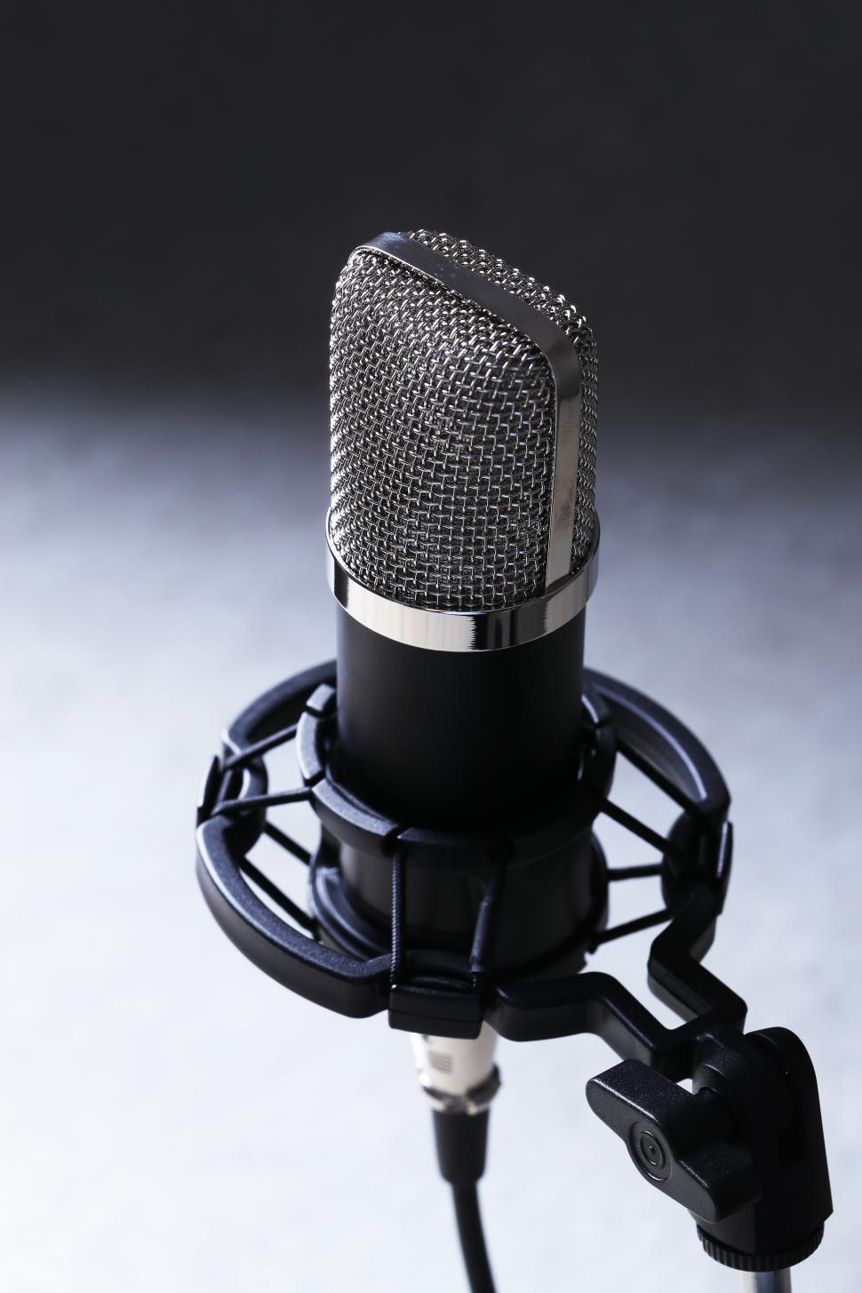 Download Free Stock Photo of Microphone