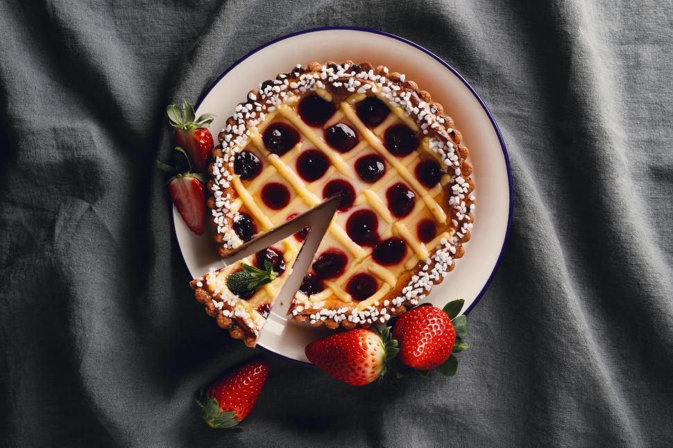 Download Free Stock Photo of Delicious pie or tart