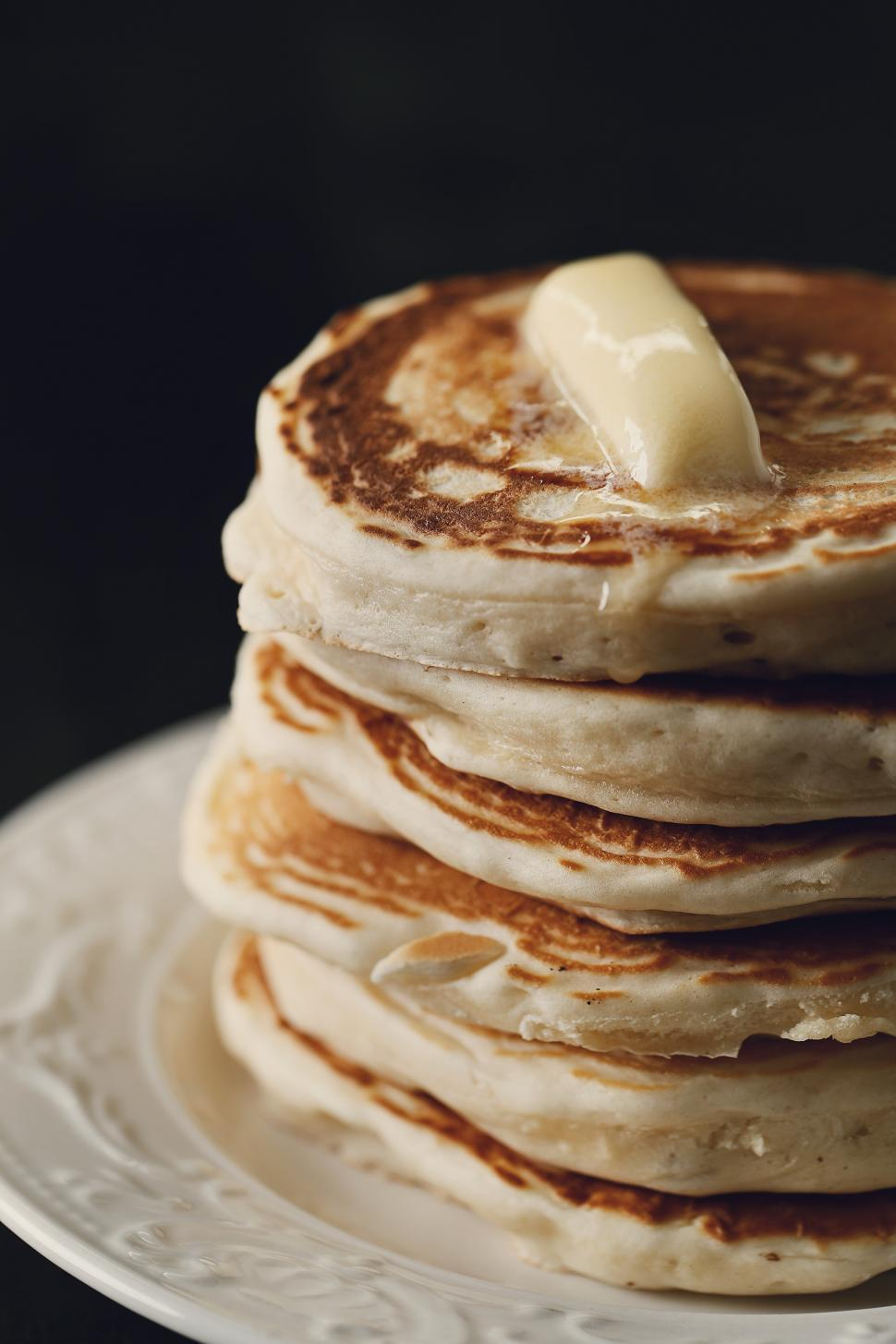 Download Free Stock Photo of Stack of Pancakes