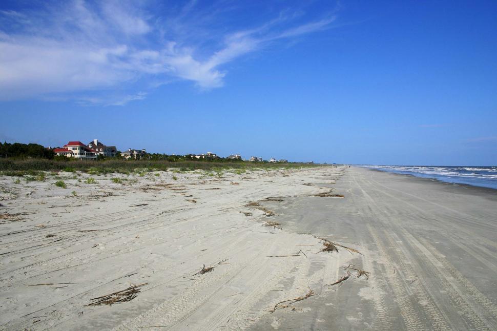 Download Free Stock HD Photo of Kiawah island beach Online