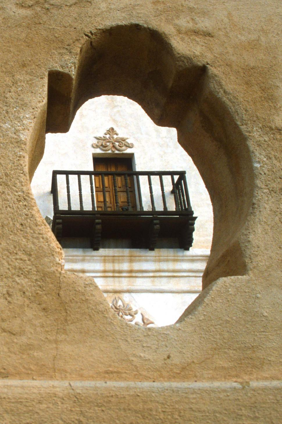Download Free Stock HD Photo of Balcony at San Xavier del Bac Online
