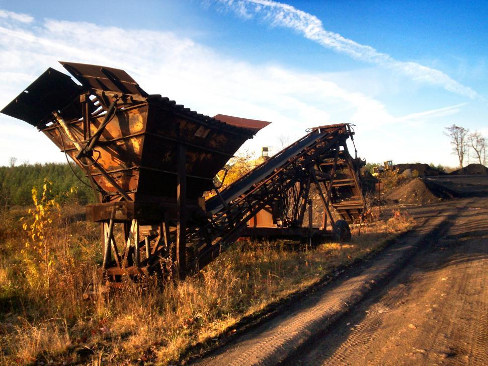 Download Free Stock HD Photo of old coal hopper Online