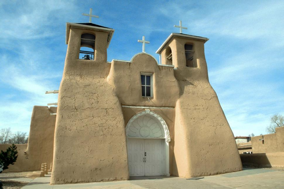 Download Free Stock HD Photo of Ranchos de Taos Church in New Mexico Online