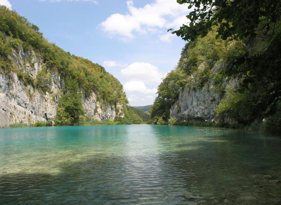 Download Free Stock Photo of Plitvice Lakes national park in Croatia Landscape
