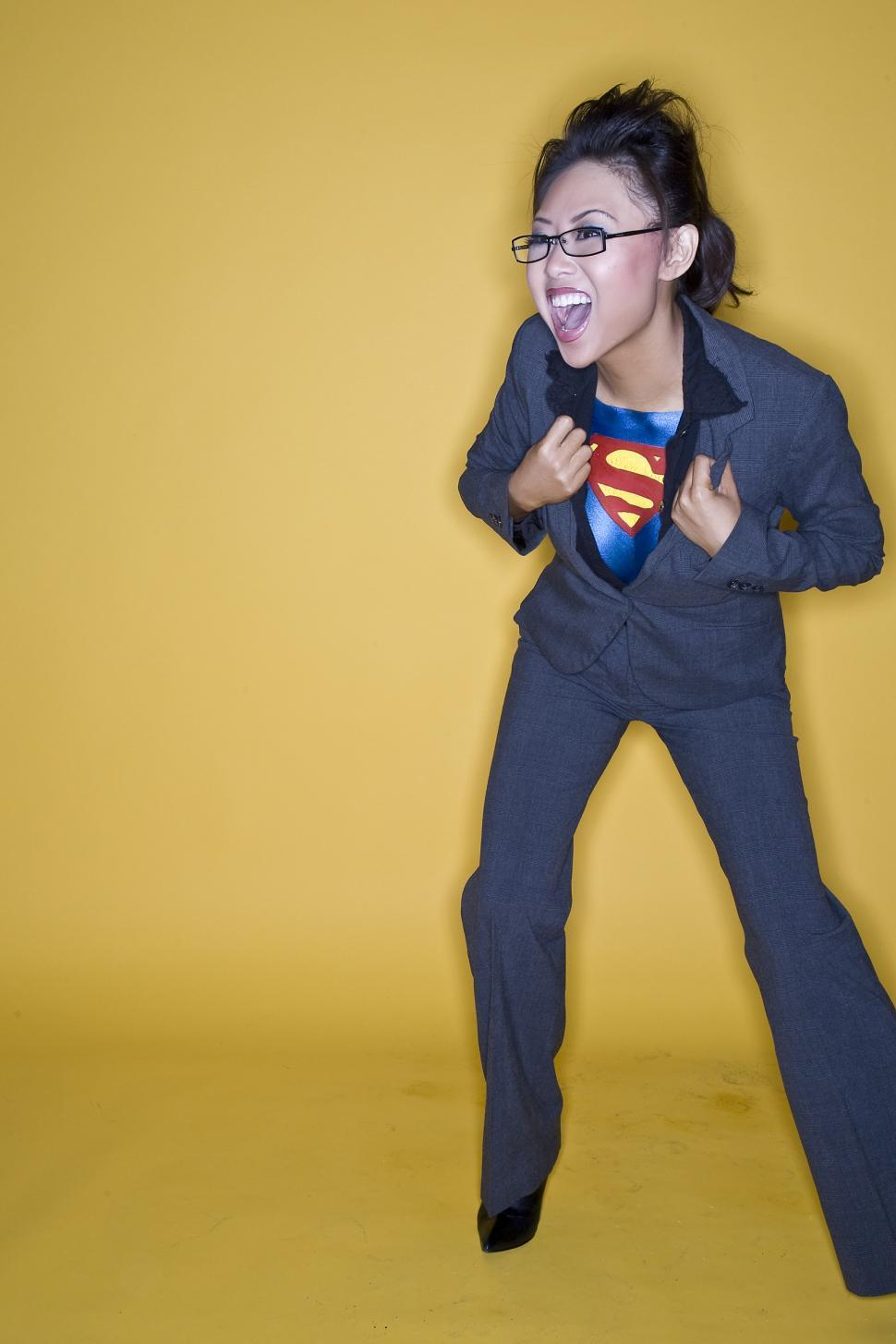 Download Free Stock Photo of Super Girl