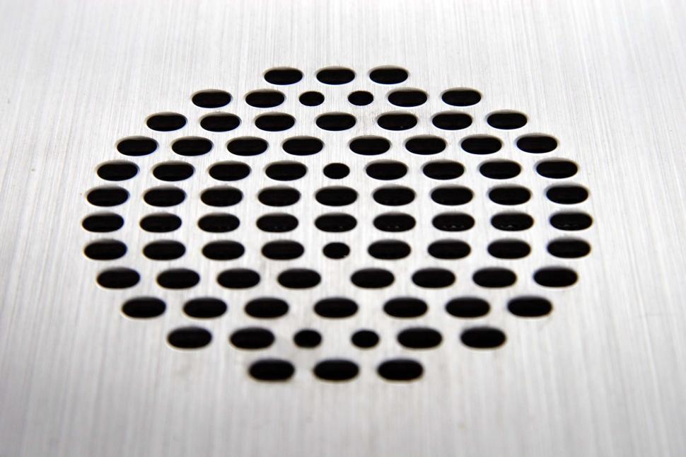 Download Free Stock HD Photo of Speaker grille pattern Online