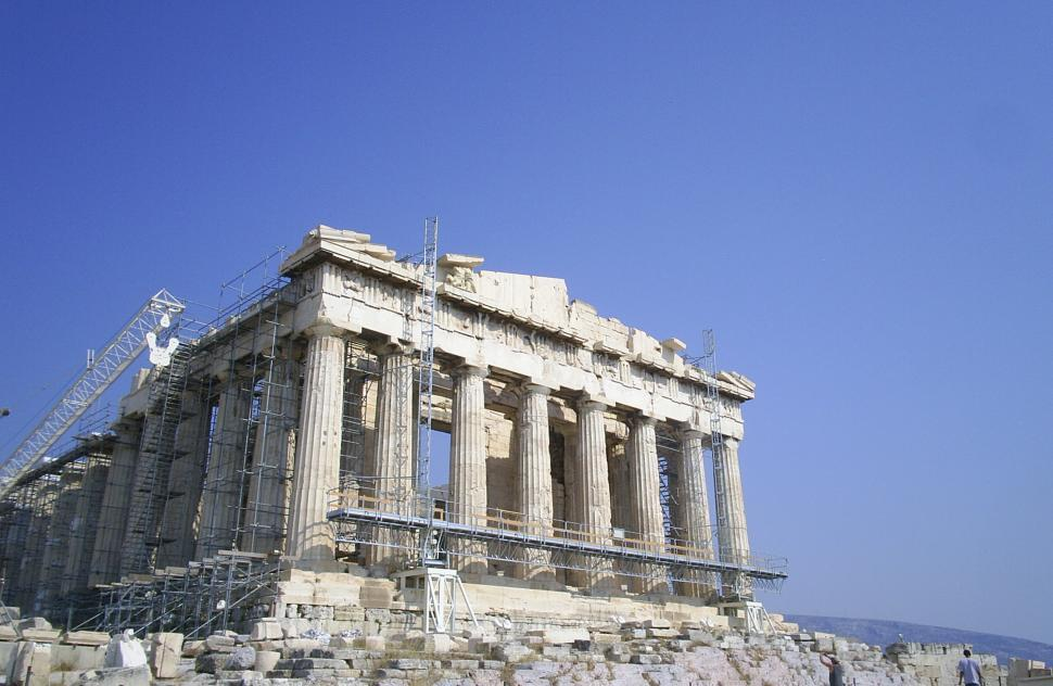 Download Free Stock Photo of Greek Temple Ruins