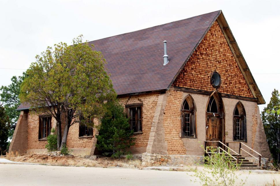 Download Free Stock HD Photo of Historic adobe church Online