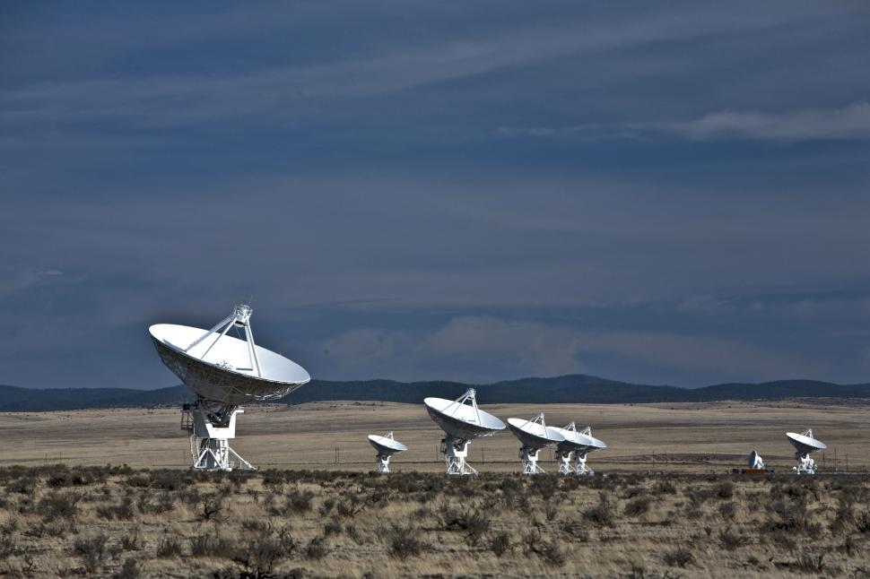 Download Free Stock Photo of VLA (Very Large Array)