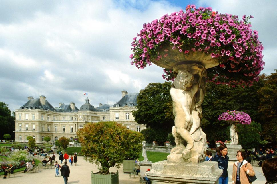 Download Free Stock HD Photo of Luxembourg Gardens Online