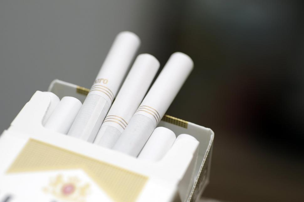 Download Free Stock HD Photo of Close-up of cigarettes Online