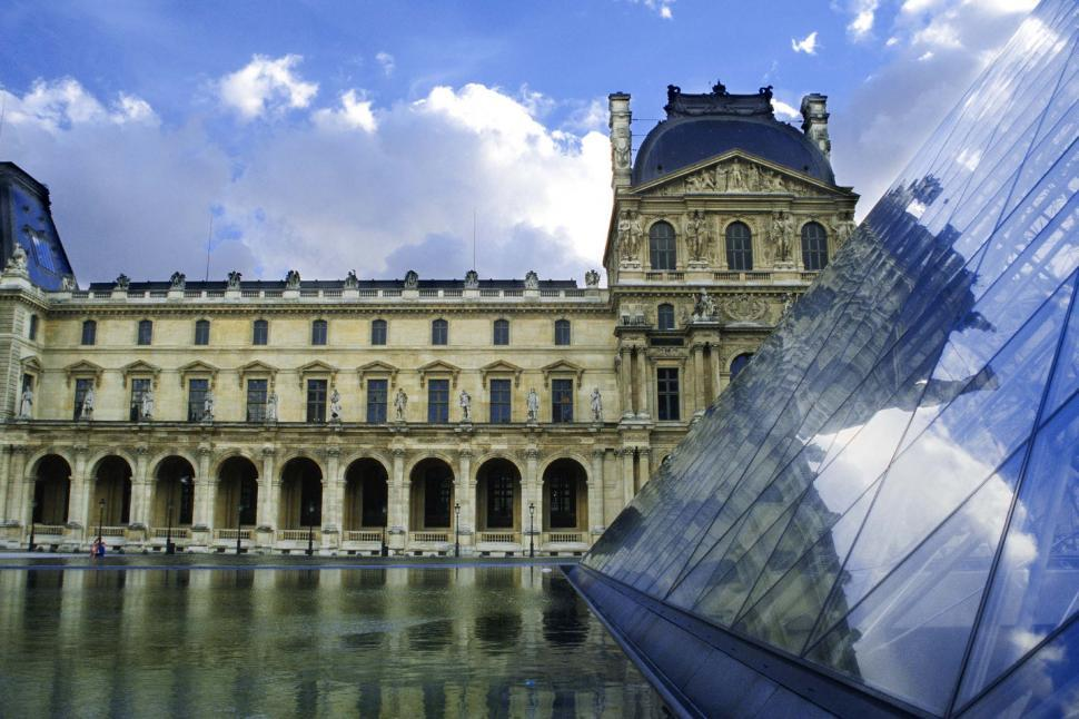 Download Free Stock Photo of The Louvre museum