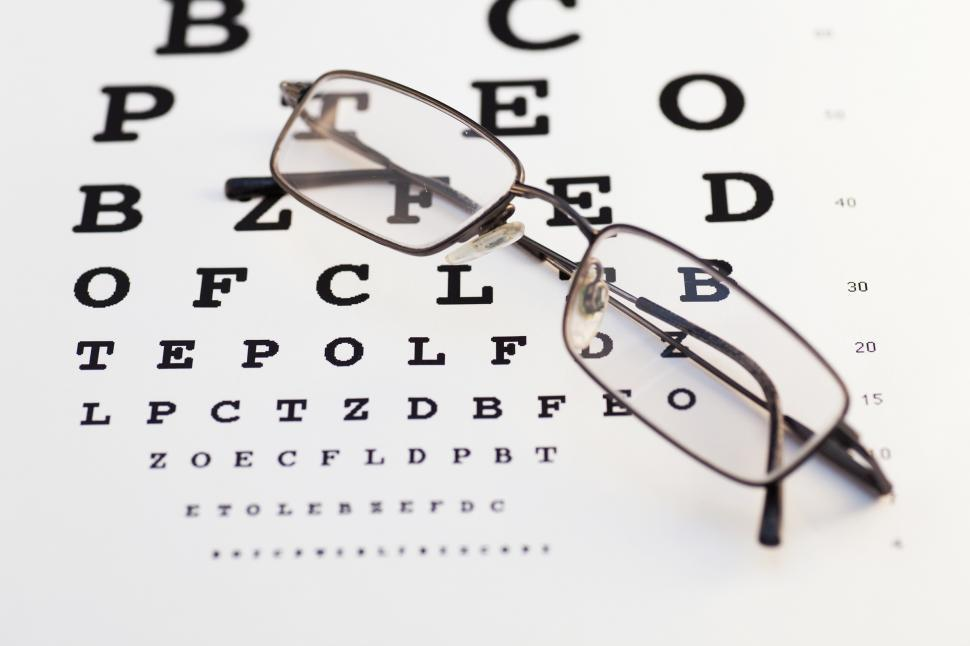 Download Free Stock HD Photo of Glasses and chart Online