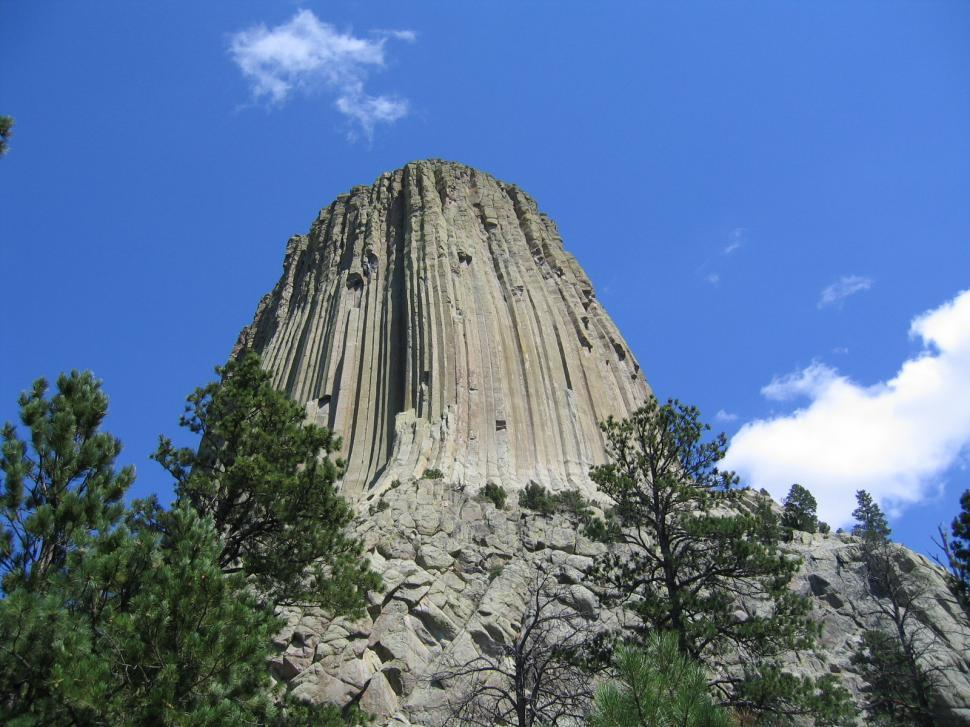 Download Free Stock Photo of Devils Tower
