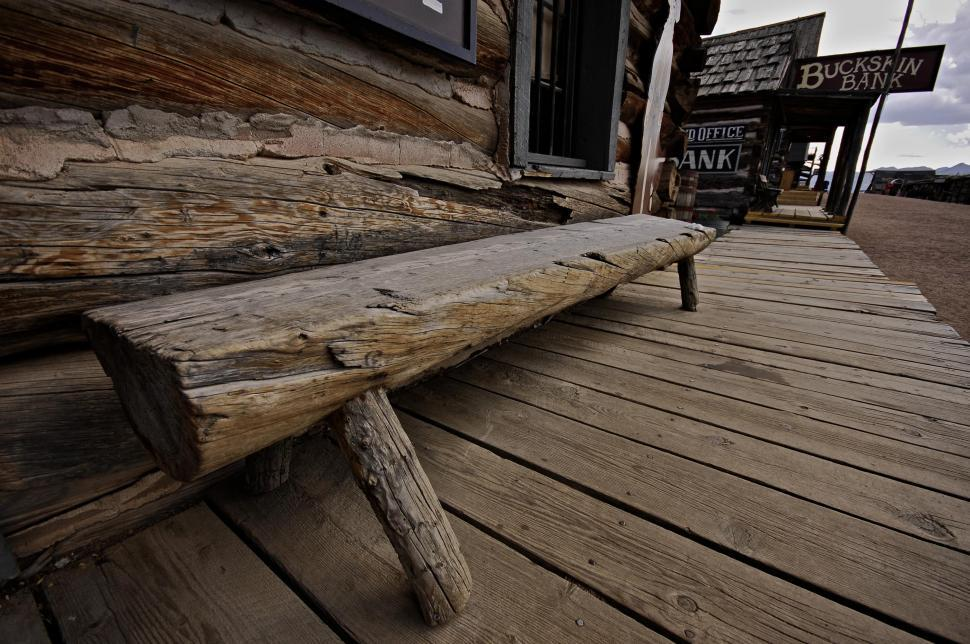 Download Free Stock Photo of Wooden bench