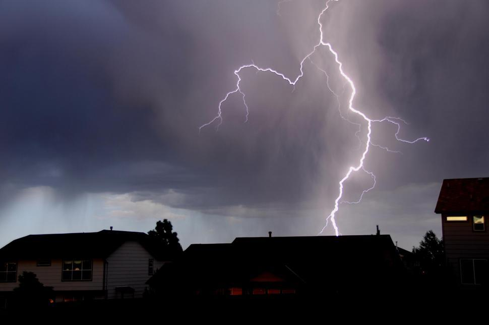 Download Free Stock HD Photo of View of Lightning bolt Online