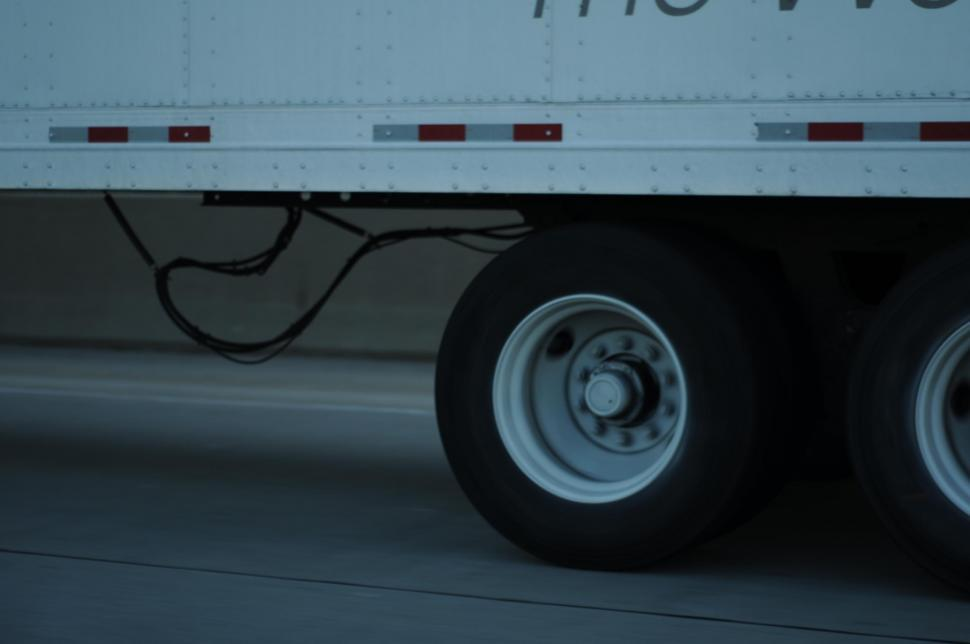 Download Free Stock HD Photo of Tractor trailer wheels Online