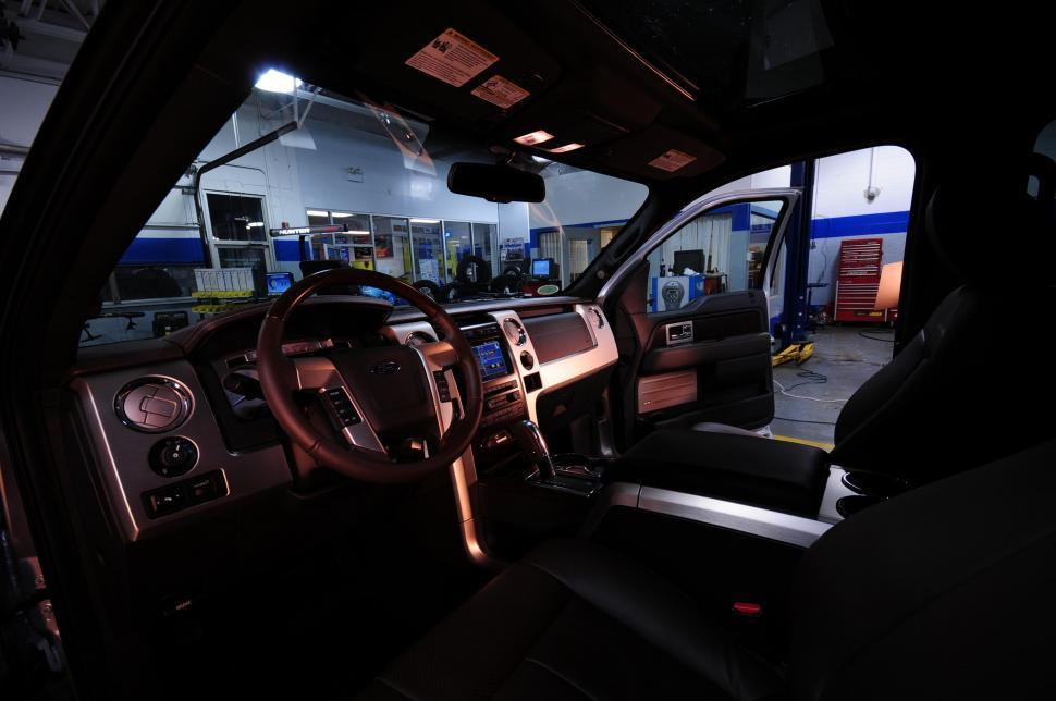 Download Free Stock HD Photo of SUV interior Online