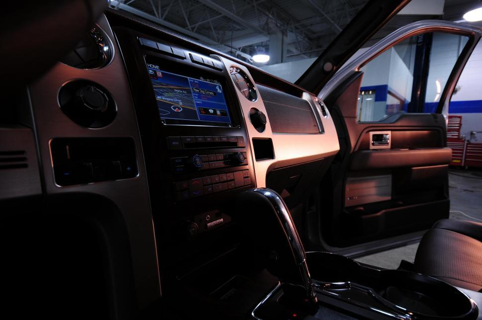 Download Free Stock HD Photo of Truck interior Online