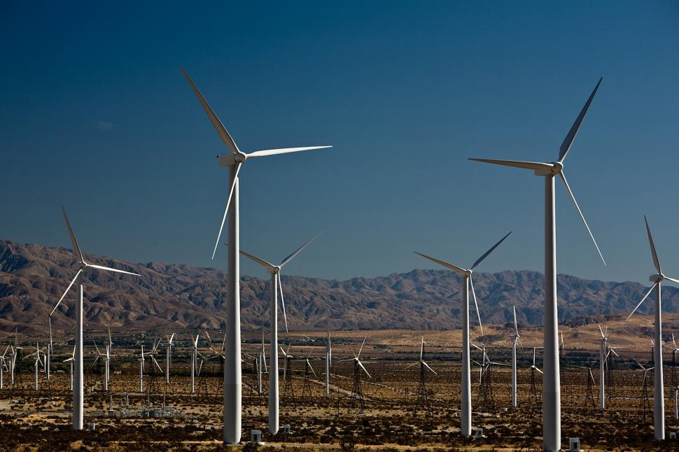 Download Free Stock HD Photo of California Wind Farm Online