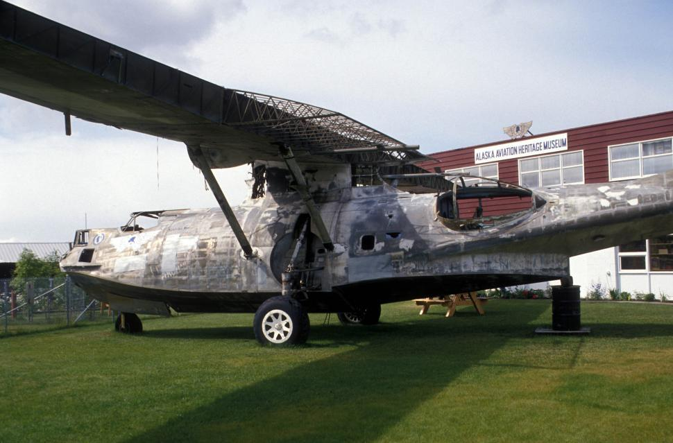 Download Free Stock HD Photo of 1943 PBY 5A Catalina Canso Online