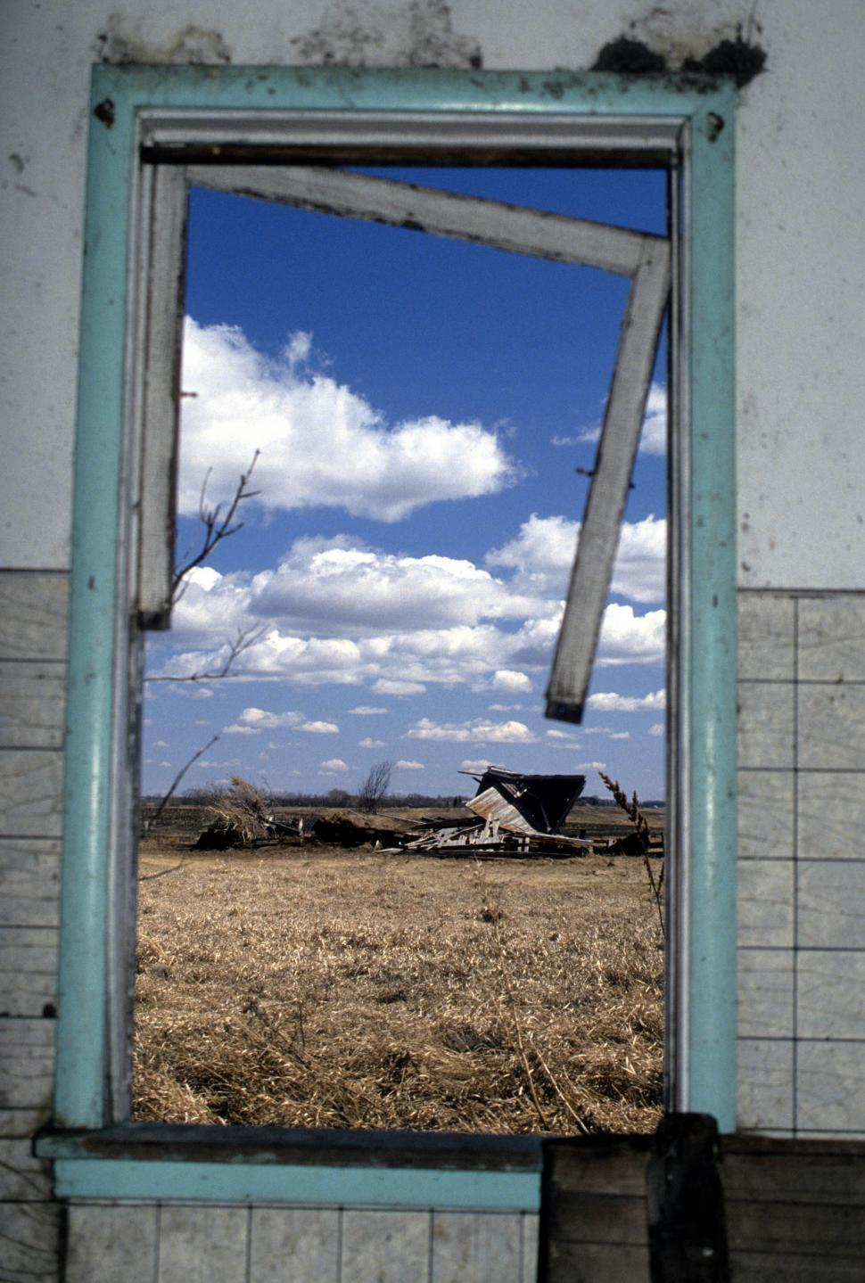 Download Free Stock Photo of Dilapidated window