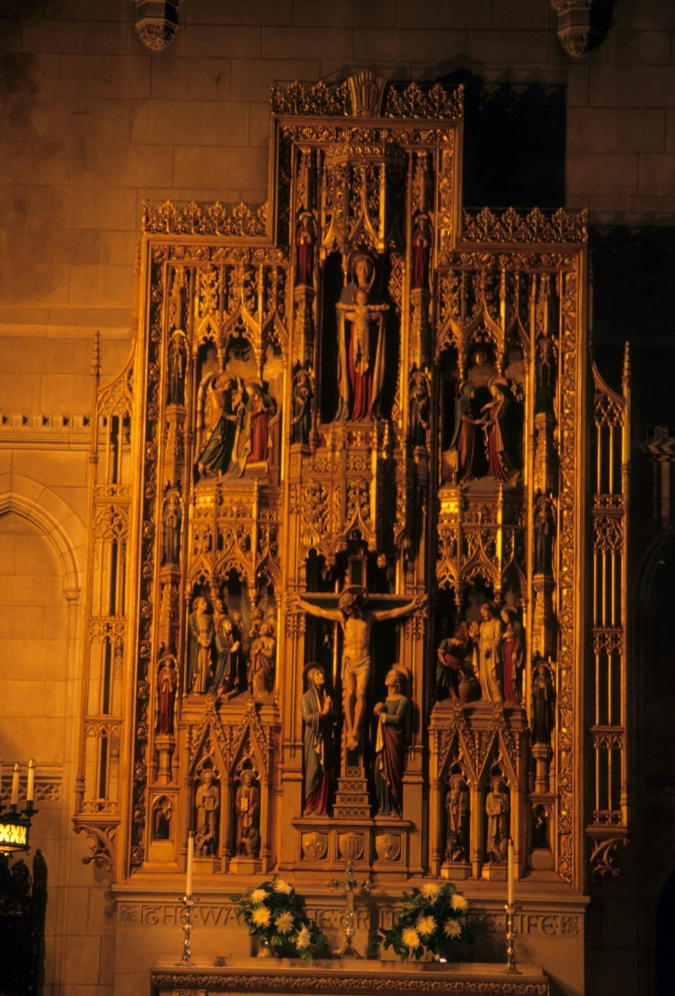 Download Free Stock Photo of Cathedral artwork