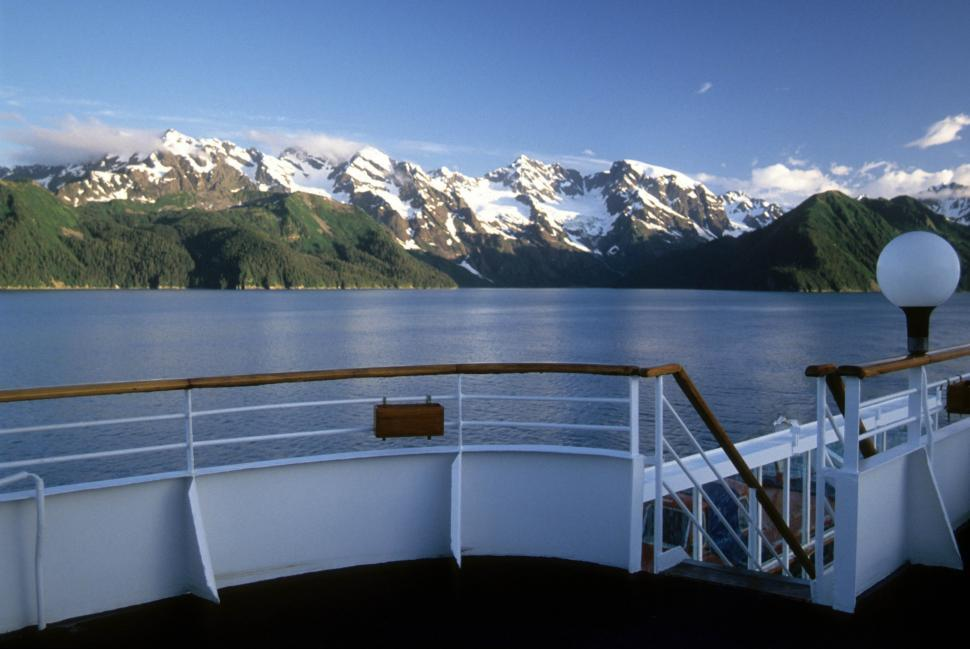 Download Free Stock HD Photo of View from boat deck Online