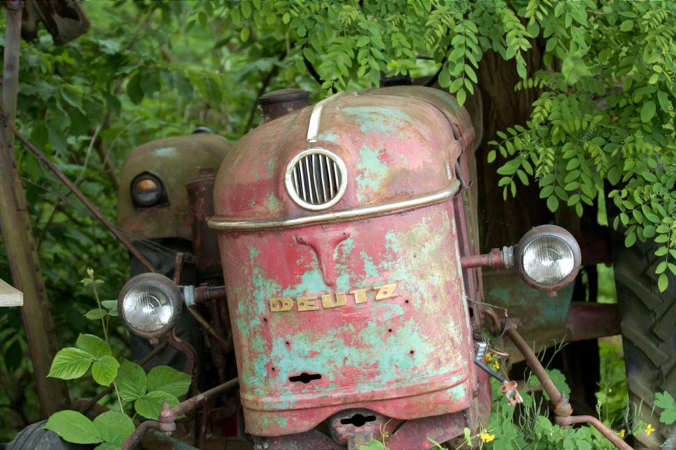 Download Free Stock Photo of Old tractor