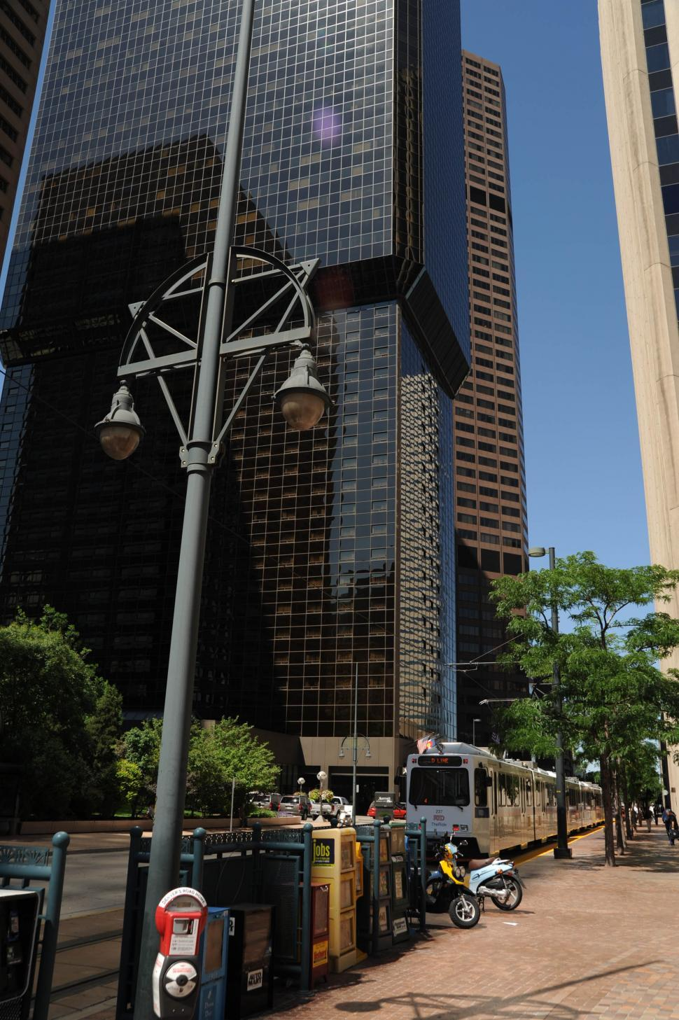 Download Free Stock HD Photo of City sidewalk - Denver Online