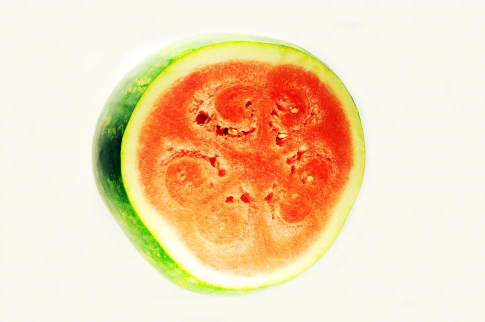 Download Free Stock HD Photo of Watermelon half Online