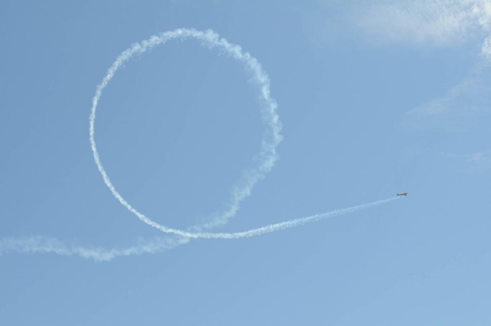 Download Free Stock Photo of Airplane loop