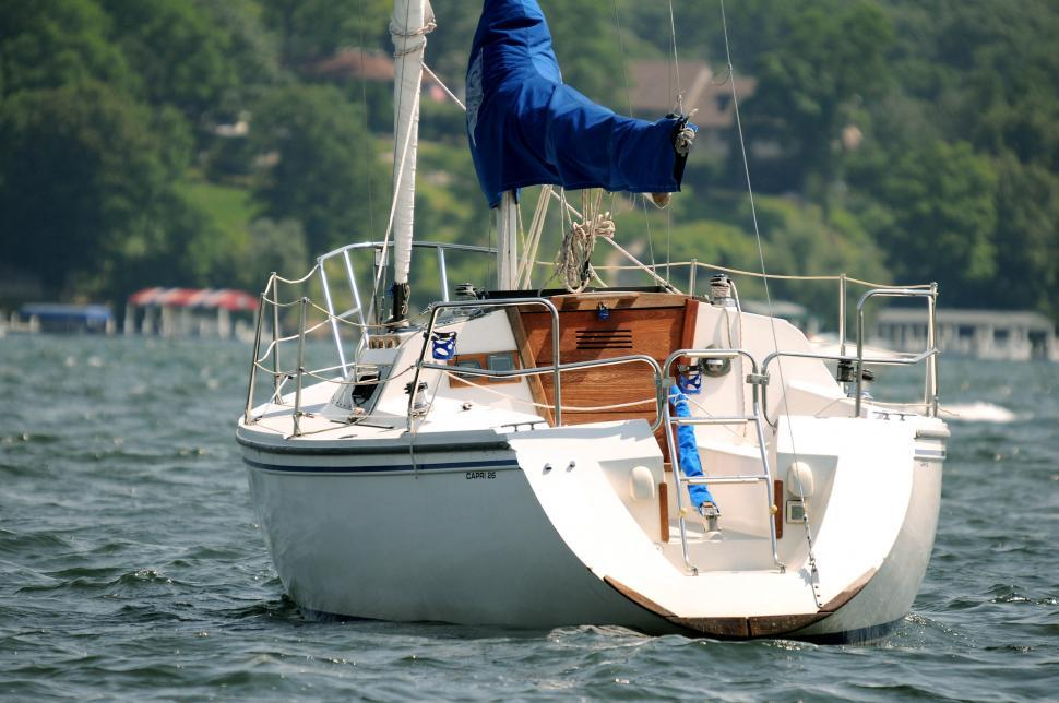 Download Free Stock HD Photo of Sailboat stern Online